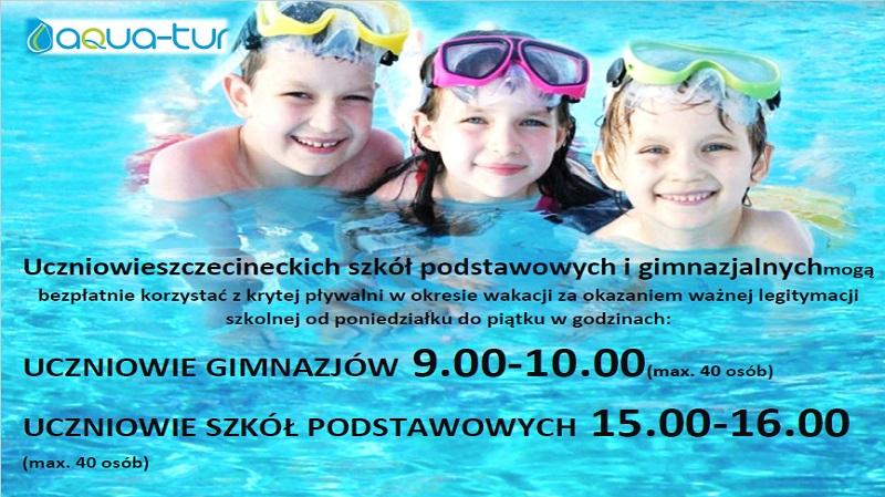Bezpłatne wejścia dla dzieci ze szczecineckich szkół