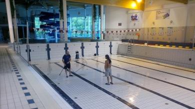 Przestój technologiczny na basenie w roku 2017