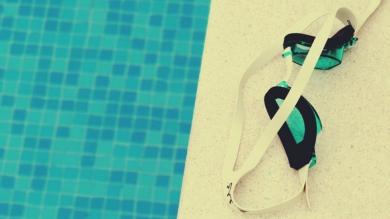 Lany poniedziałek na basenie!